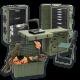 Защитные ящики, металлические контейнеры, шкафы, контейнеры раскладные военные столы от Hardigg Peli.